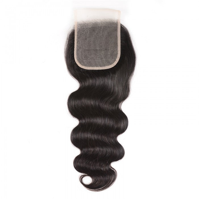 Swiss Lace Free Part Closure (4x4)