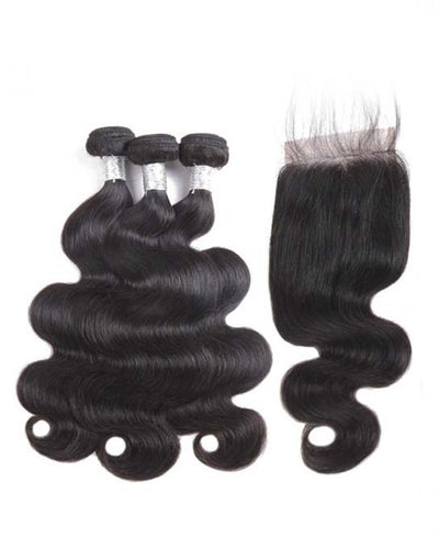 Bodywave 3 Bundles & Closure ( Goddess Collection )