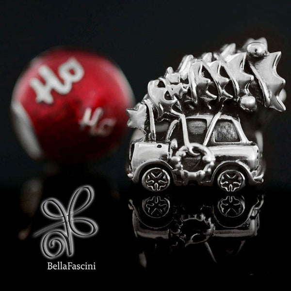 Getting The Tree Christmas Tradition Bead Charm - Bella Fascini fits Pandora