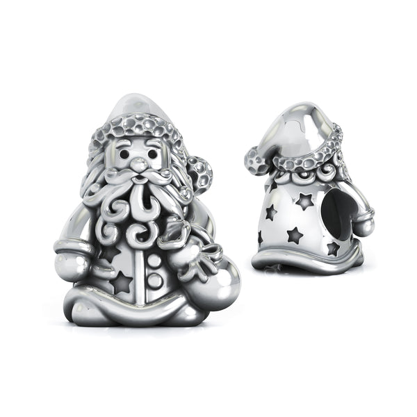 Christmas Magic Santa Claus Bead Charm