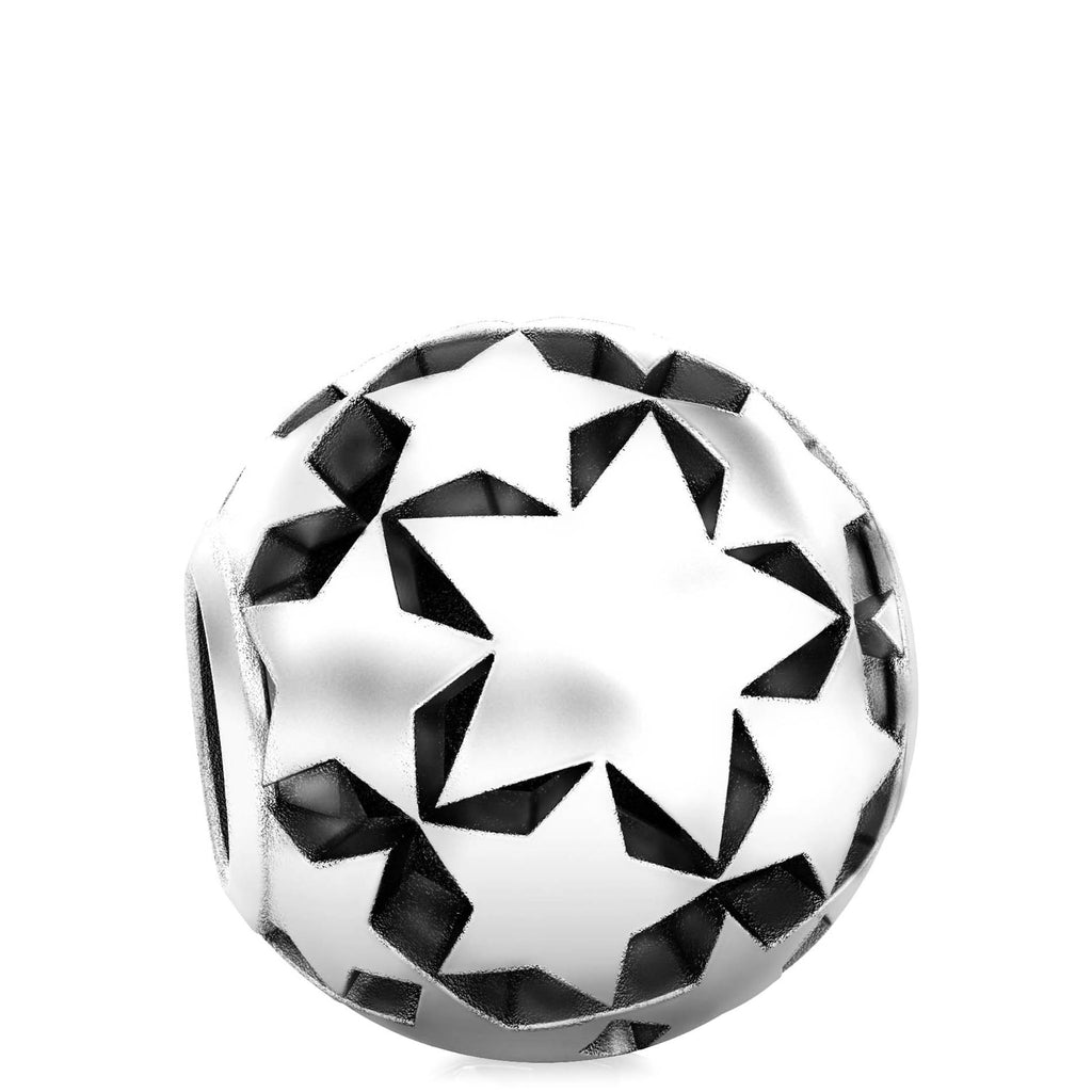 Wish Upon A Star Bead Charm - Bella Fascini fits Pandora