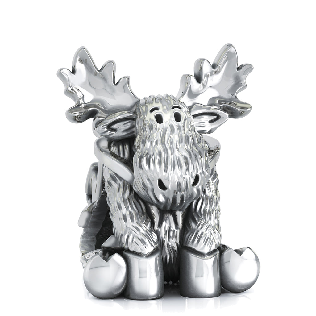 Sleigh Ride Moose Bead Charm - Winter Adventure