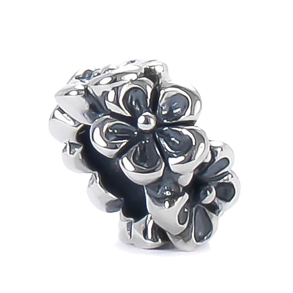 Spacer Bead Charm - Flower Band - Bella Fascini fits Pandora
