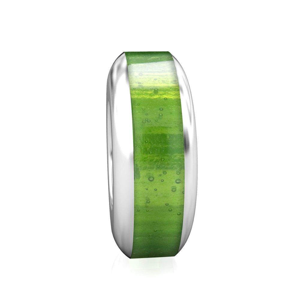 Spacer Luxe Color™ Enamel Bead Charm - Lime - Bella Fascini fits Pandora