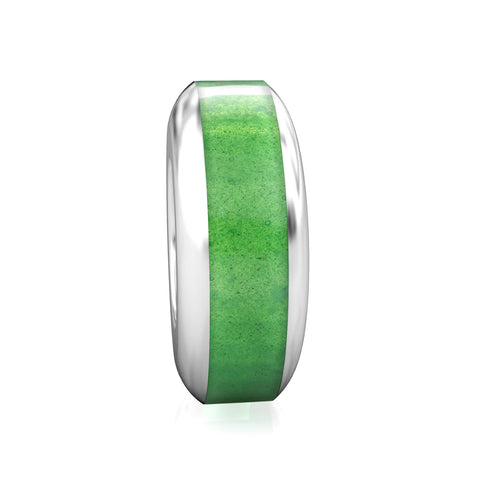 Spacer Luxe Color™ Enamel Bead Charm - Evergreen - Bella Fascini fits Pandora