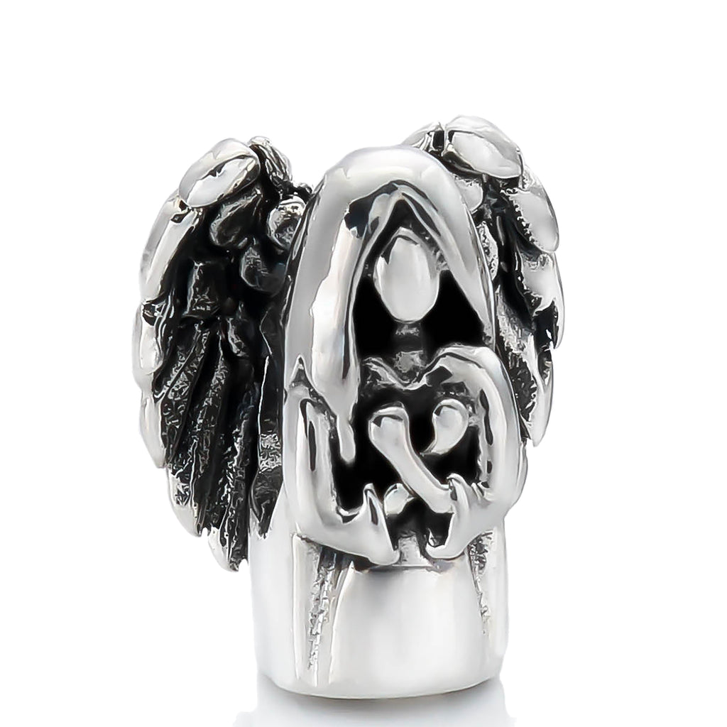 Guardian Angel with Wings Bead Charm - Bella Fascini fits Pandora