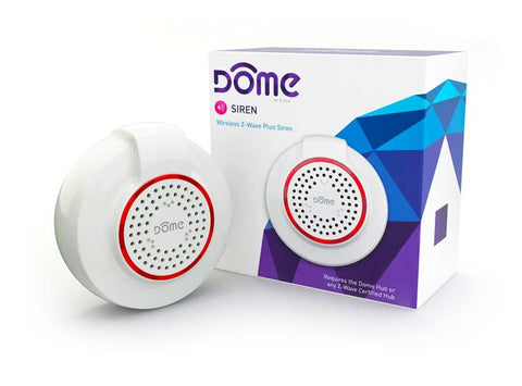 DOME Z-Wave Plus Siren