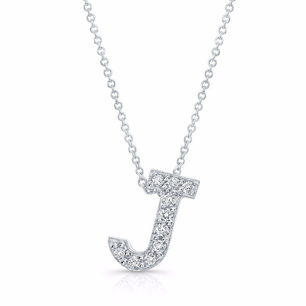 Diamond initial pendant in the letter s evs designs diamond initial pendant in the letter s aloadofball Images