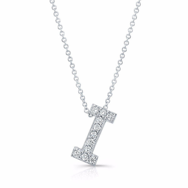 Diamond initial pendant in the letter c evs designs diamond initial pendant in the letter c aloadofball Image collections