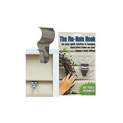 No-Hole Hooks Vinyl Siding Hangers - Low Profile- 4PK