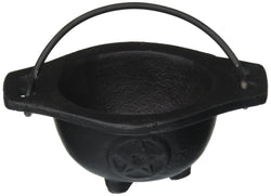 AG Small Pentagram Cast Iron Cauldron