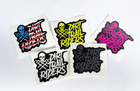 DIRT TRAIL RIDERS 5 STICKER PACK