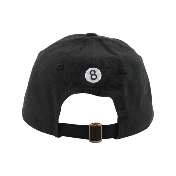 Magic 8 Ball Hat Black