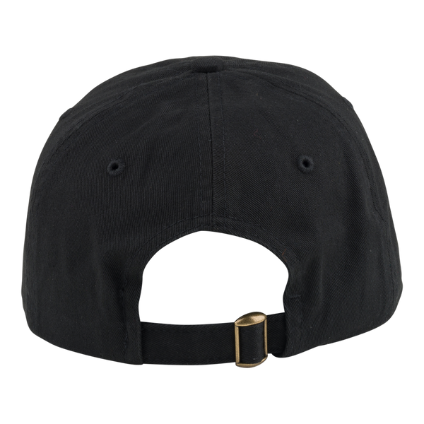 Black Metal Lung Hat Black