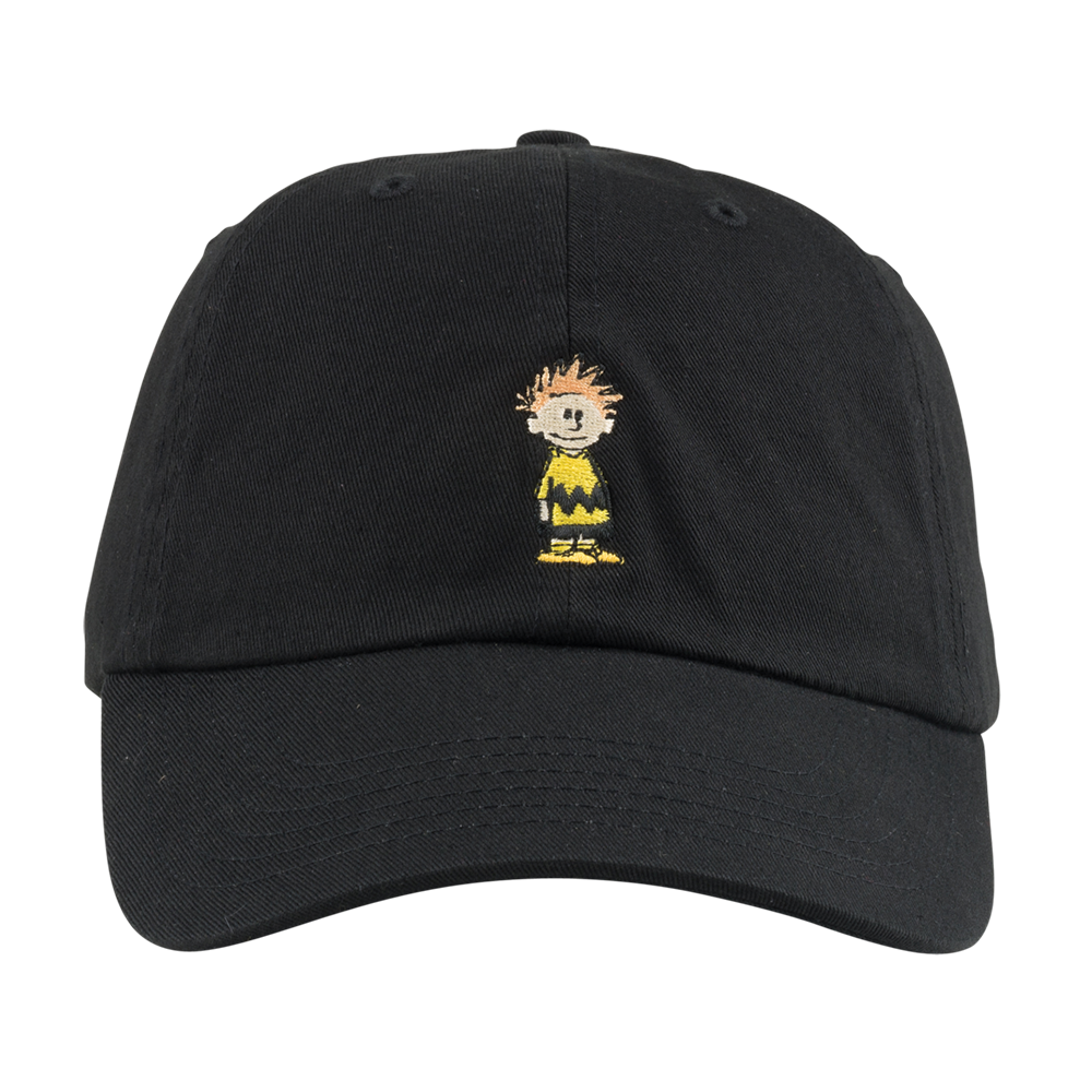 Calvin Brown Hat Black