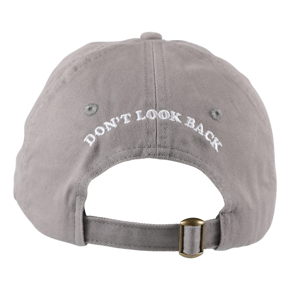 Cigarette Don't Look Back Hat Grey