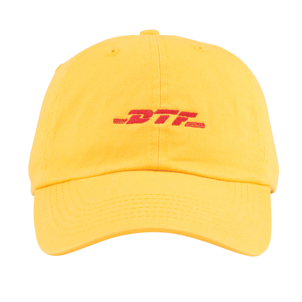 DTF Worldwide Hat Yellow