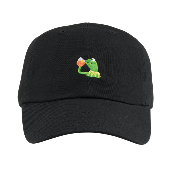 None Of My Business Hat Black