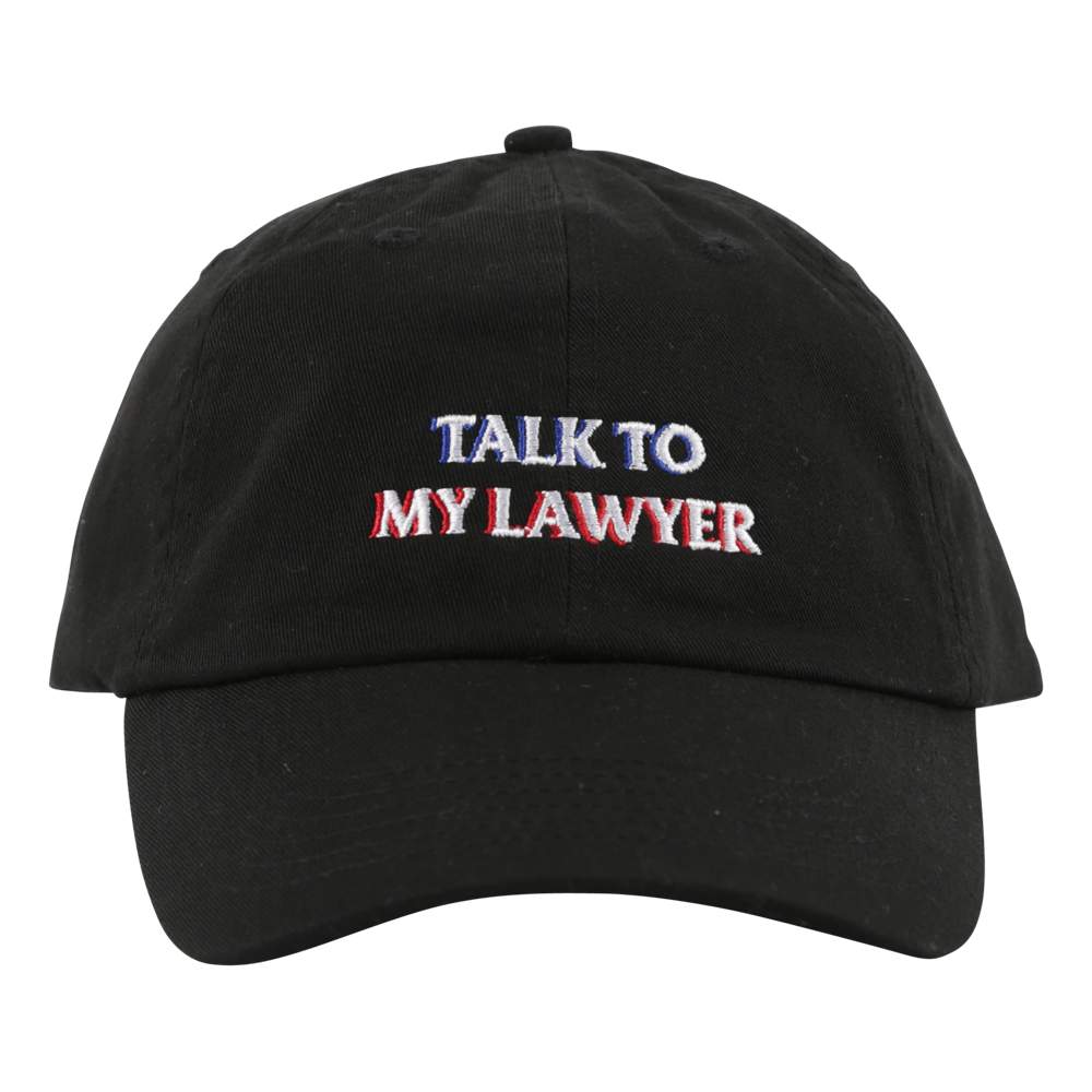 Cigarette Lawyer Up Hat Black