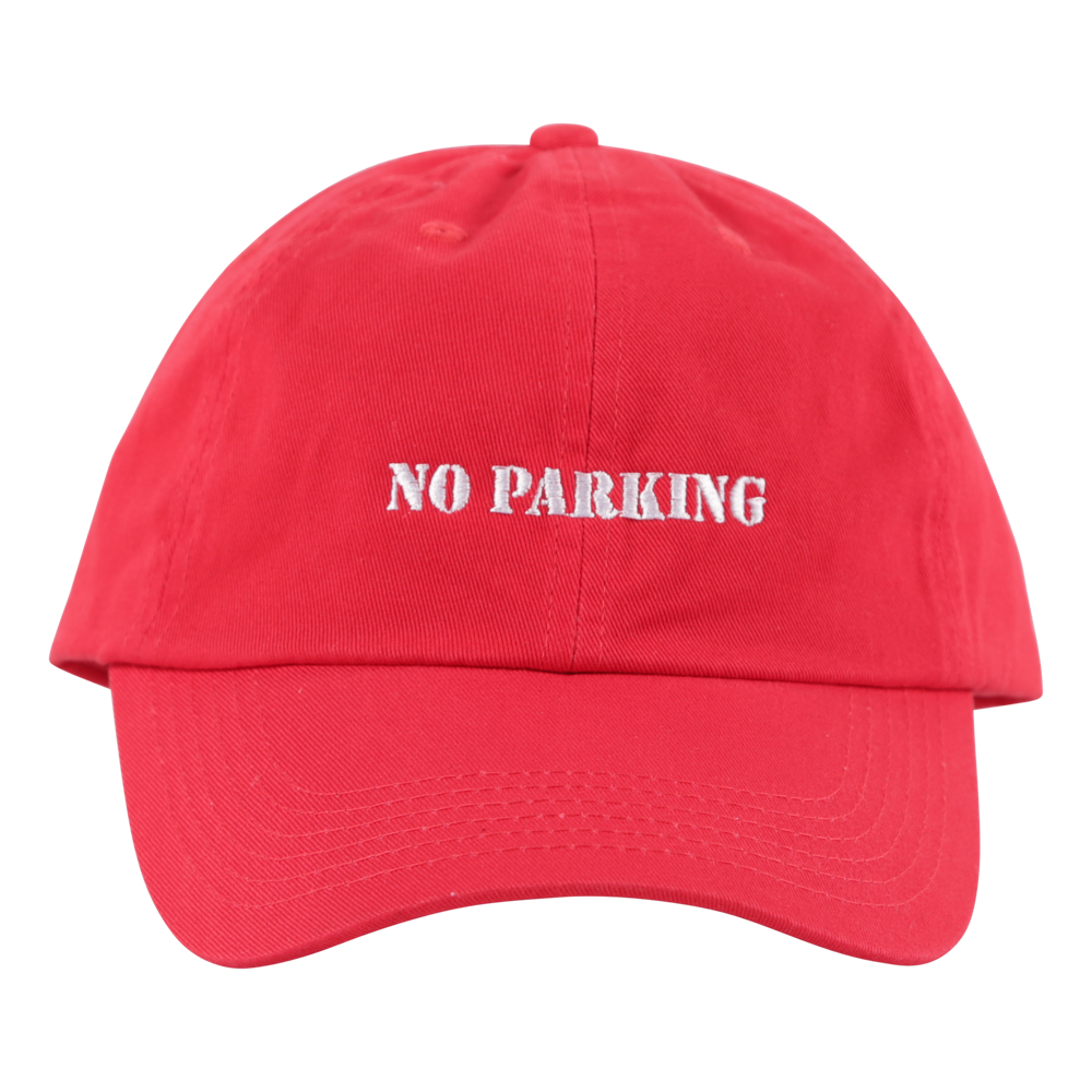 Cigarette Red Curb Hat Red