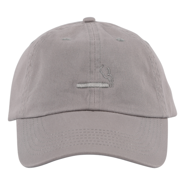 Cigarette Logo Hat Grey