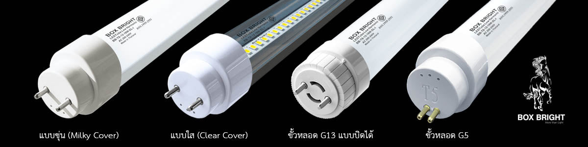 หลอดไฟ LED T8 (Premium Industrial Grade)