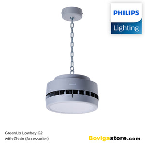40W โคมไฟ Low bay LED แบรนด์ Philips รุ่น GreenUp Lowbay G2 BY288P LED40/CW
