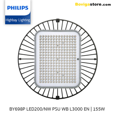 BY698P LED200/NW PSU WB L3000 EN | GreenPerform Highbay G3 | 155W | Philips