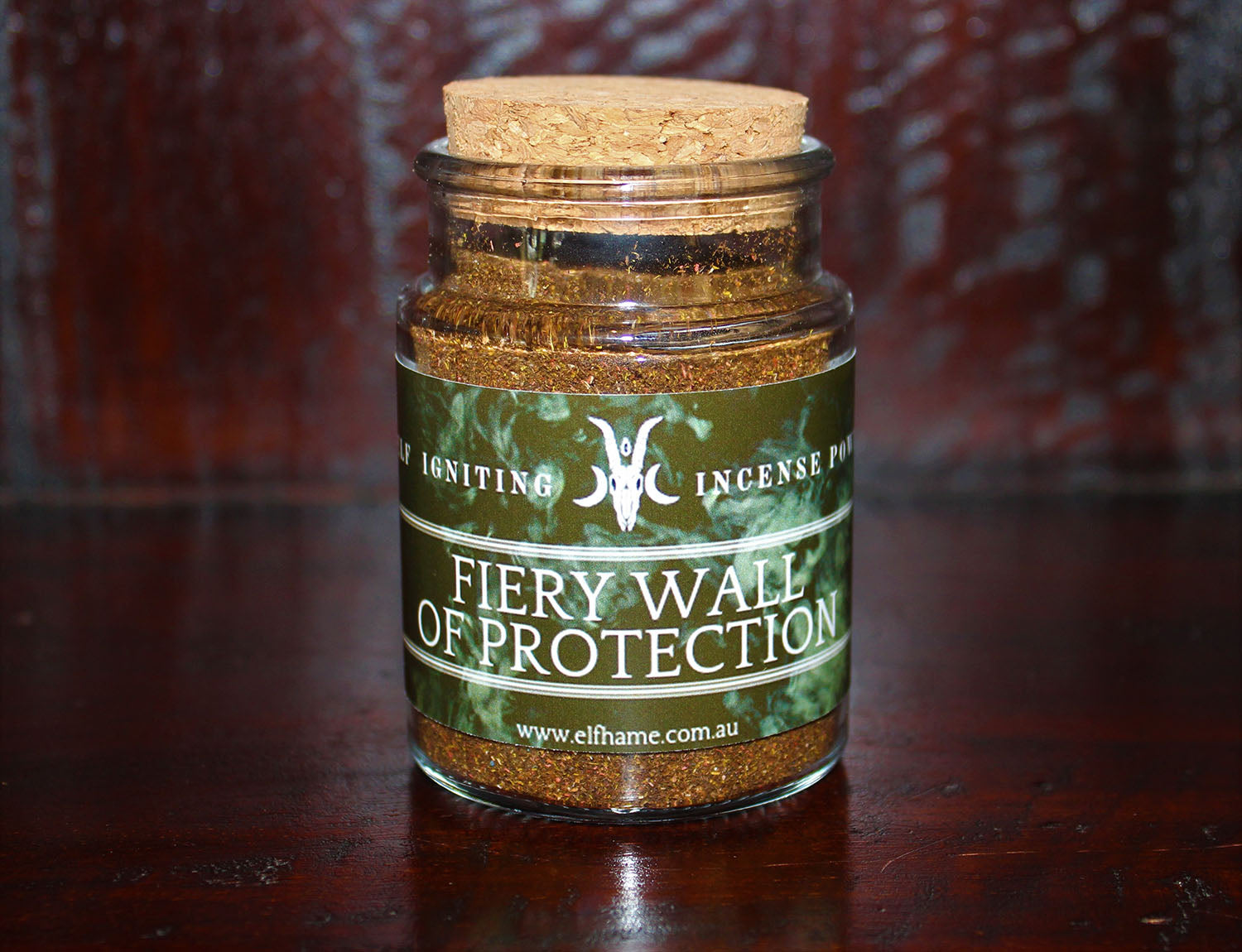 Fiery Wall of Protection, Incense Powder