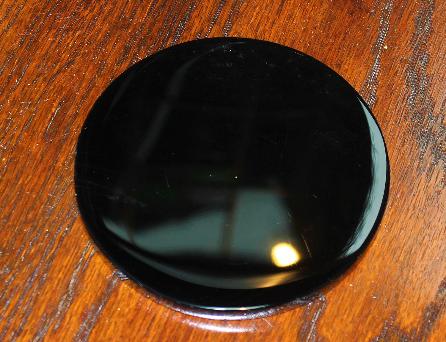 Black Obsidian Scrying Mirror (Large)