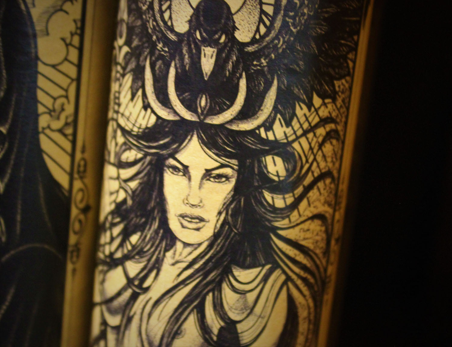 The Morrigan, Devotional Candle