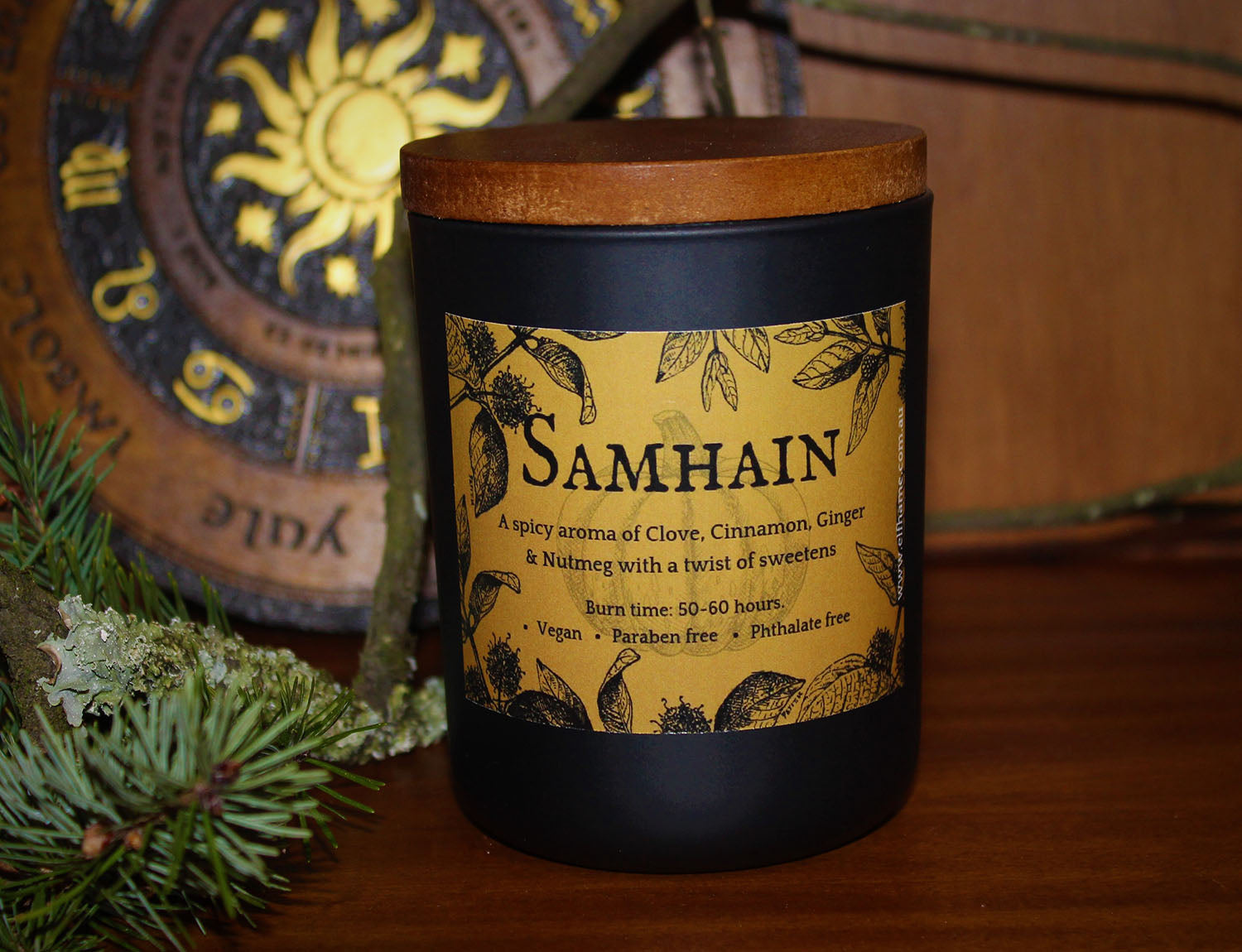 Samhain, Ritual Scent Candle