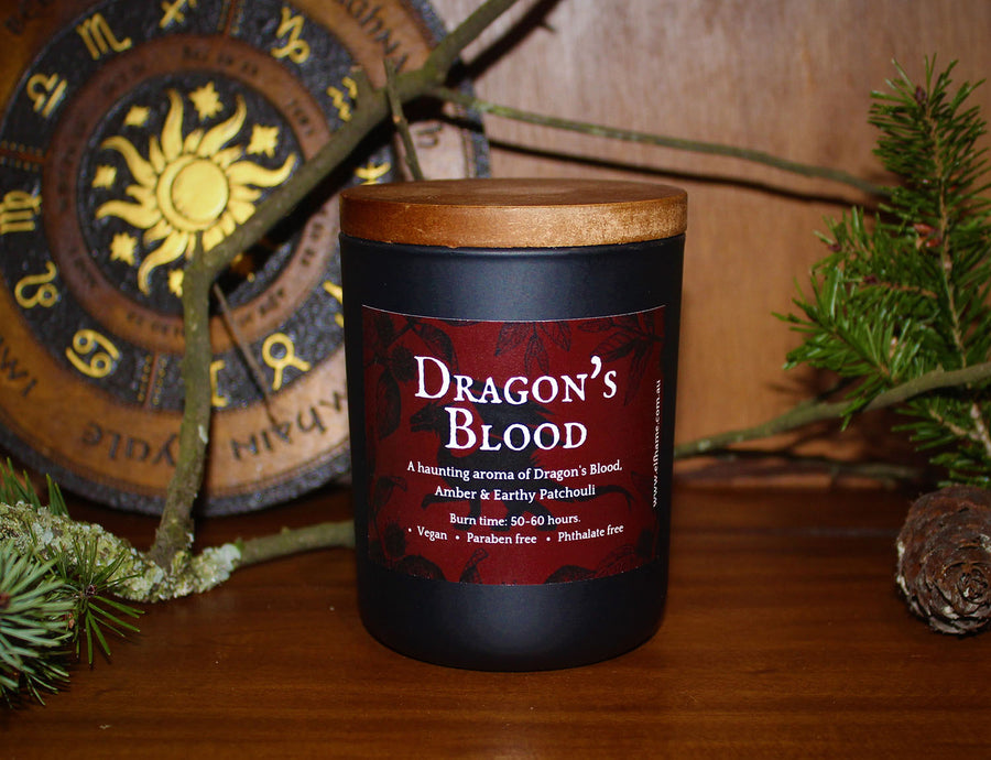 Dragon's Blood, Ritual Scent Candle