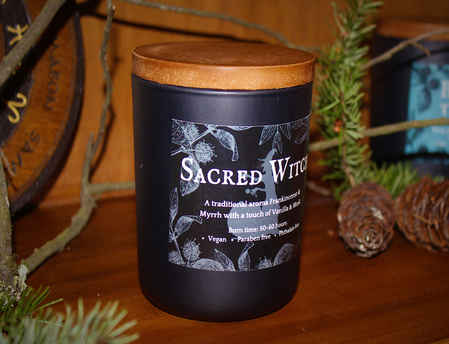 Sacred Witch, Ritual Scent Candle