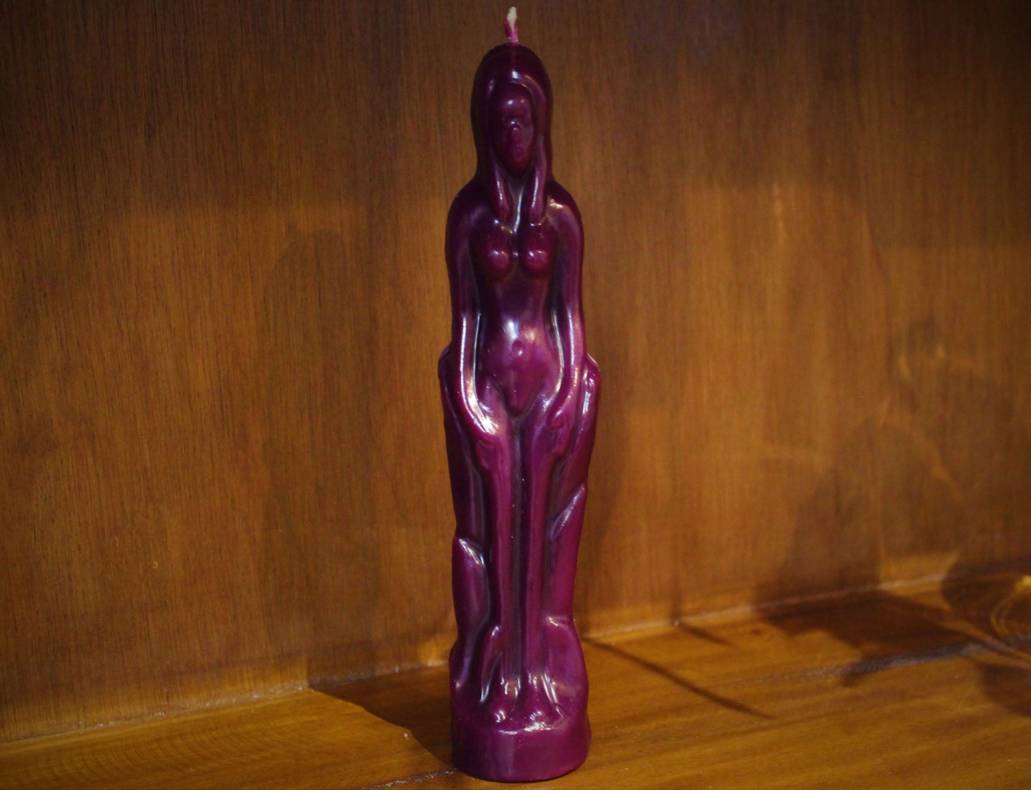 Female Candle, Purple