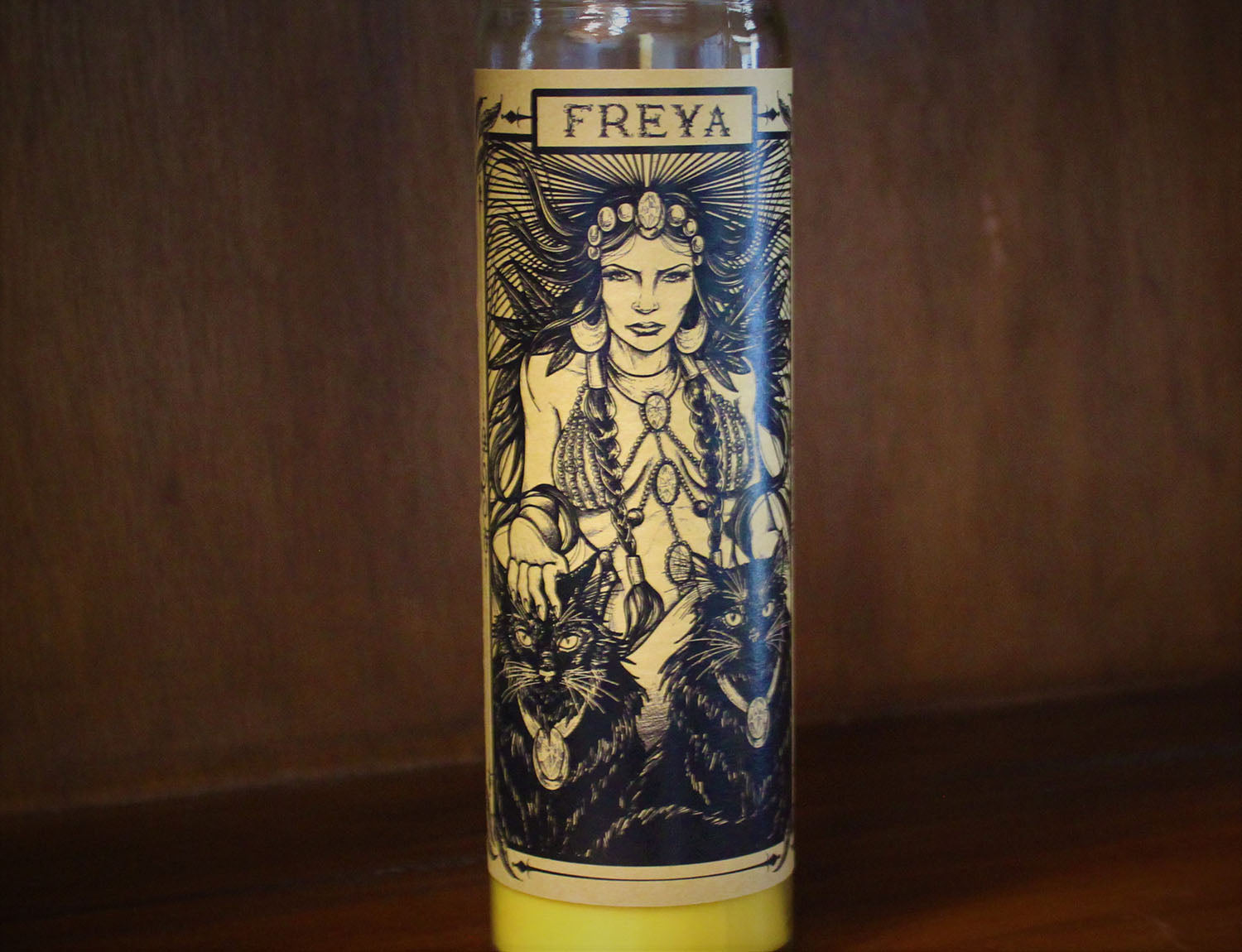 Freya, Devotional Candle