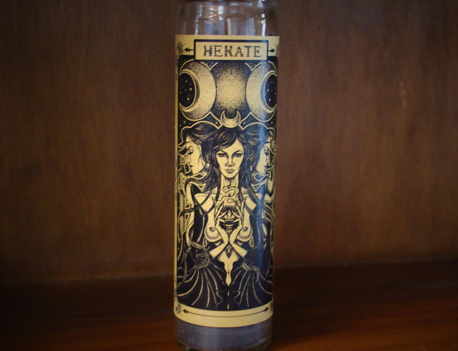 Hecate, Devotional Candle
