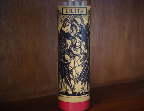 Lilith, 7-Day Fixed Candle