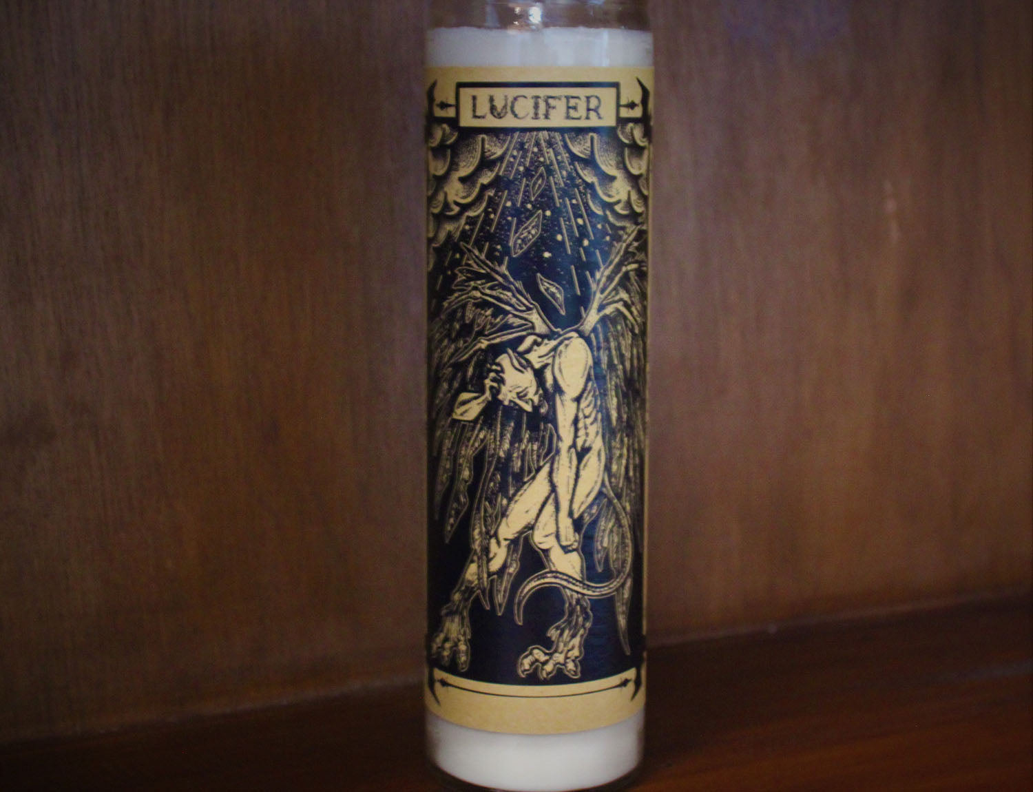 Lucifer, Devotional Candle