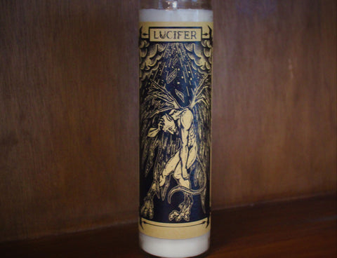 Lucifer, 7-Day Fixed Candle