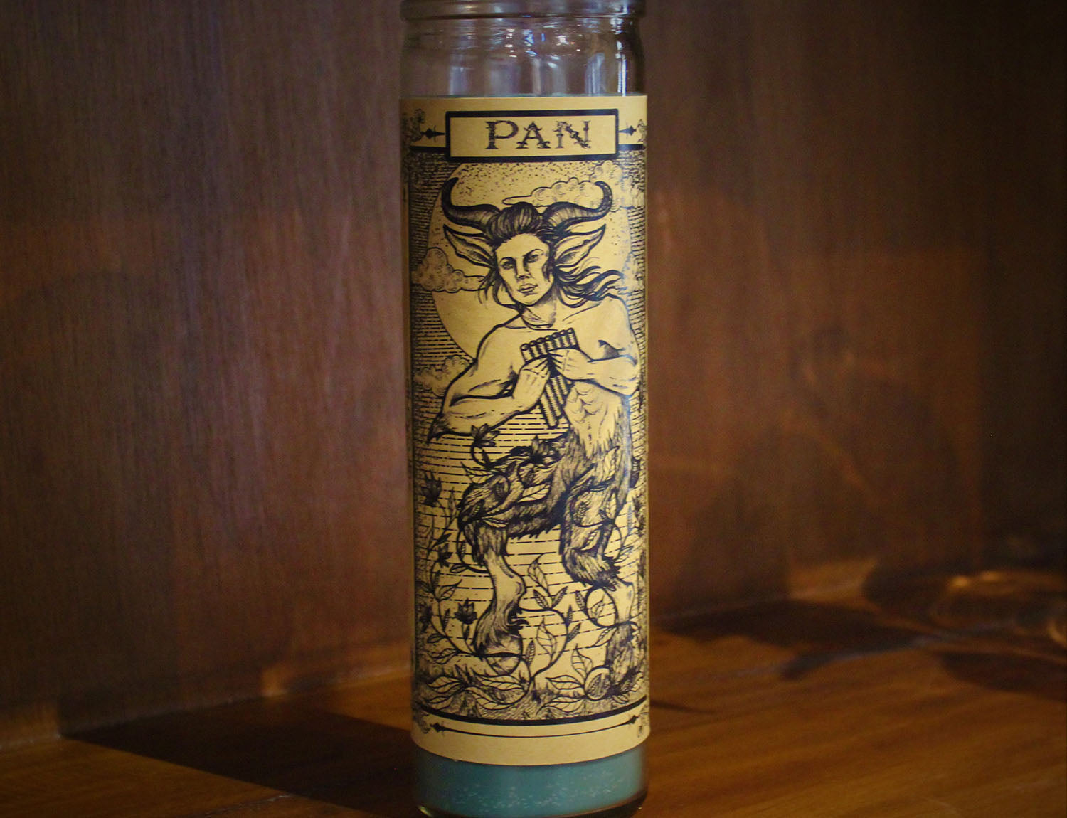 Pan, Devotional Candle