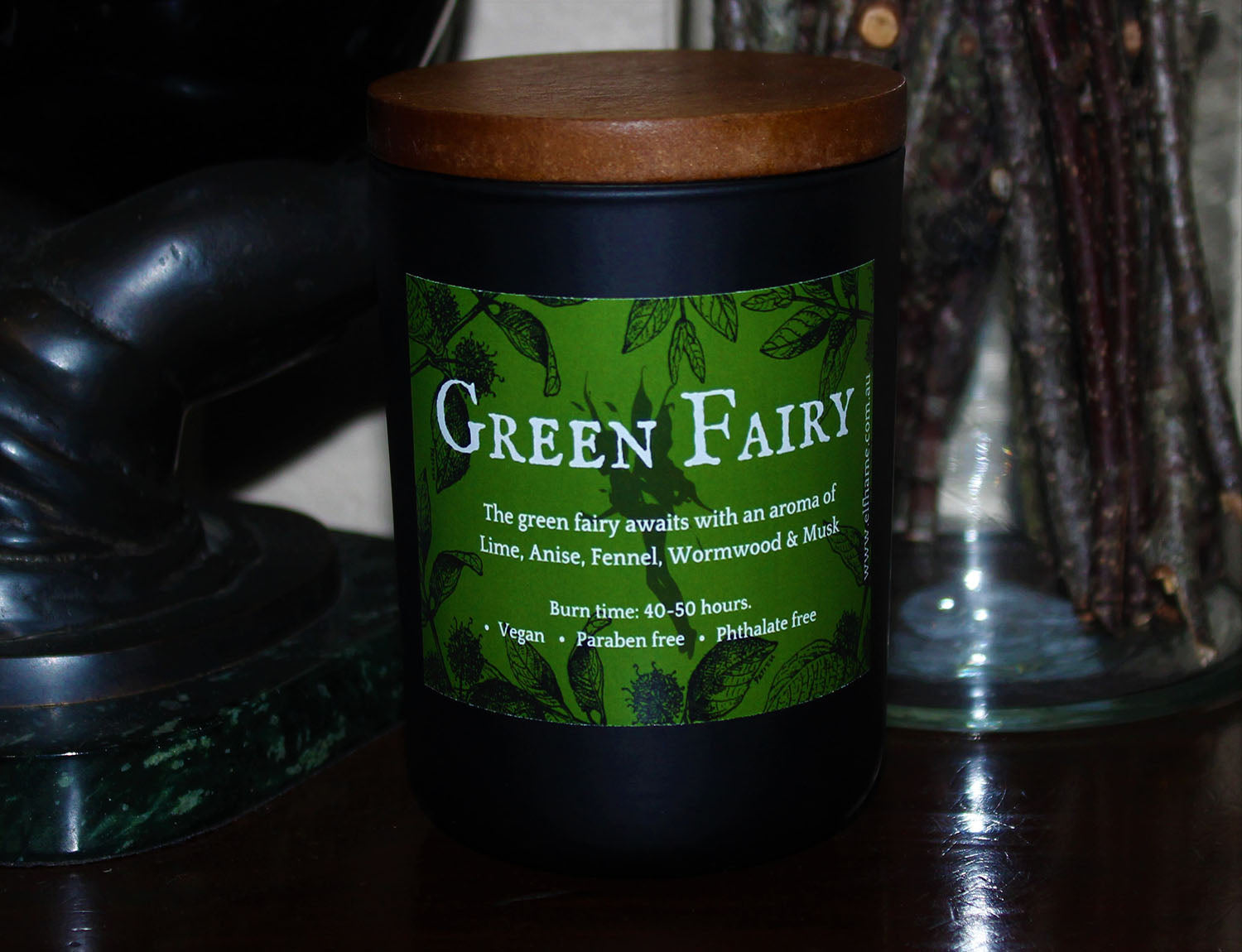Green Fairy, Ritual Scent Candle
