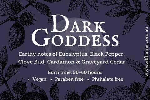 Dark Goddess, Ritual Scent Candle