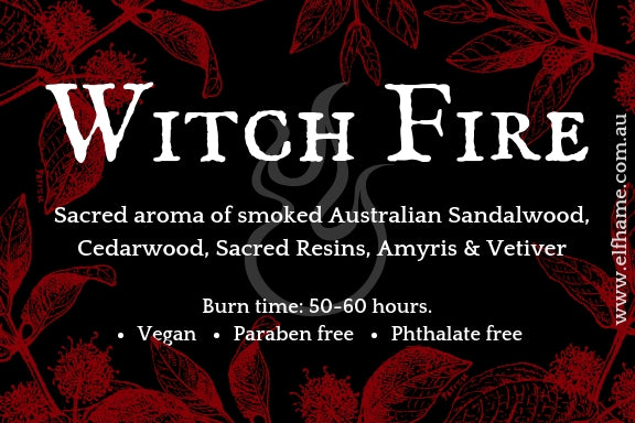 Witch Fire, Ritual Scent Candle