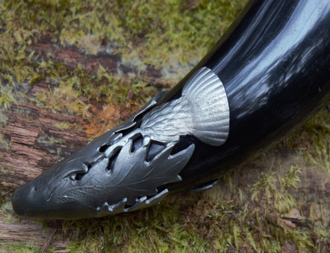 Scottish Thistle, Drinking Horn