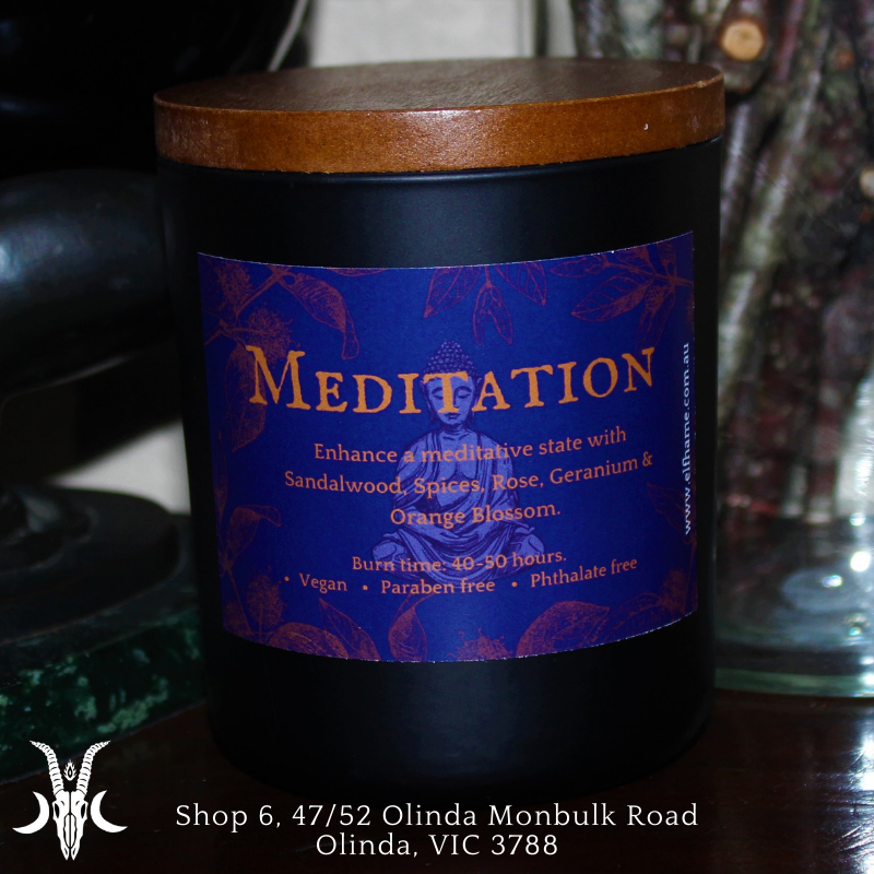 Meditation, Ritual Scent Candle