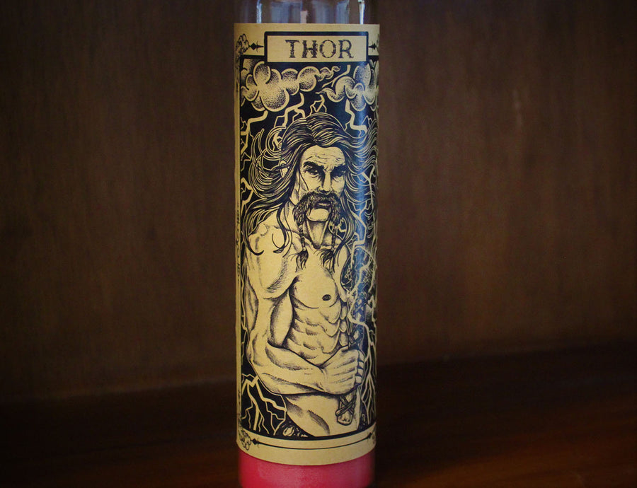 Thor, Devotional Candle