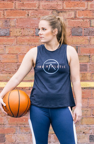 All Rounder Muscle Tee - Navy