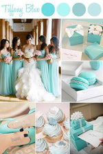 Tiffany Blue Flip Flops - 24 Pairs - Reception Flip Flops
