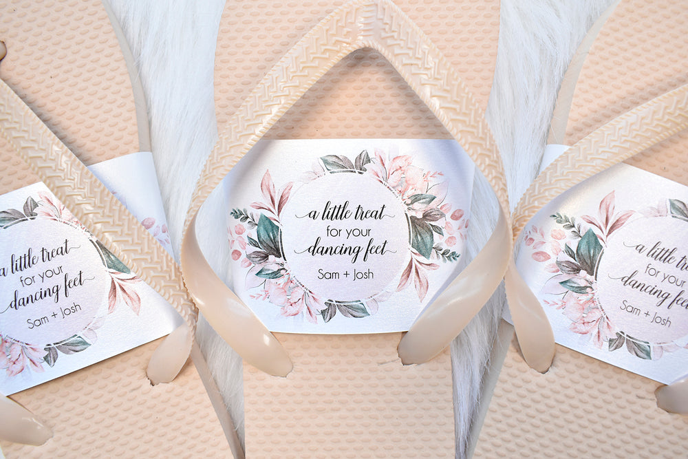 Personalized Flip Flop Band